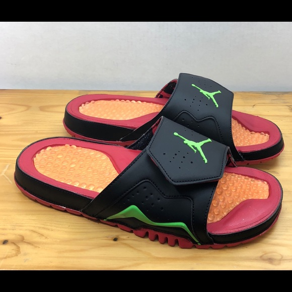 6431624c73d3 Nike Jordan Hydro VII 7 Retro Slide Sandals Sz 9
